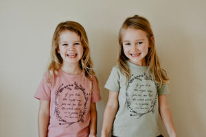 Herb Wreath KIDS Tee - Sage - LAST SIZE 5