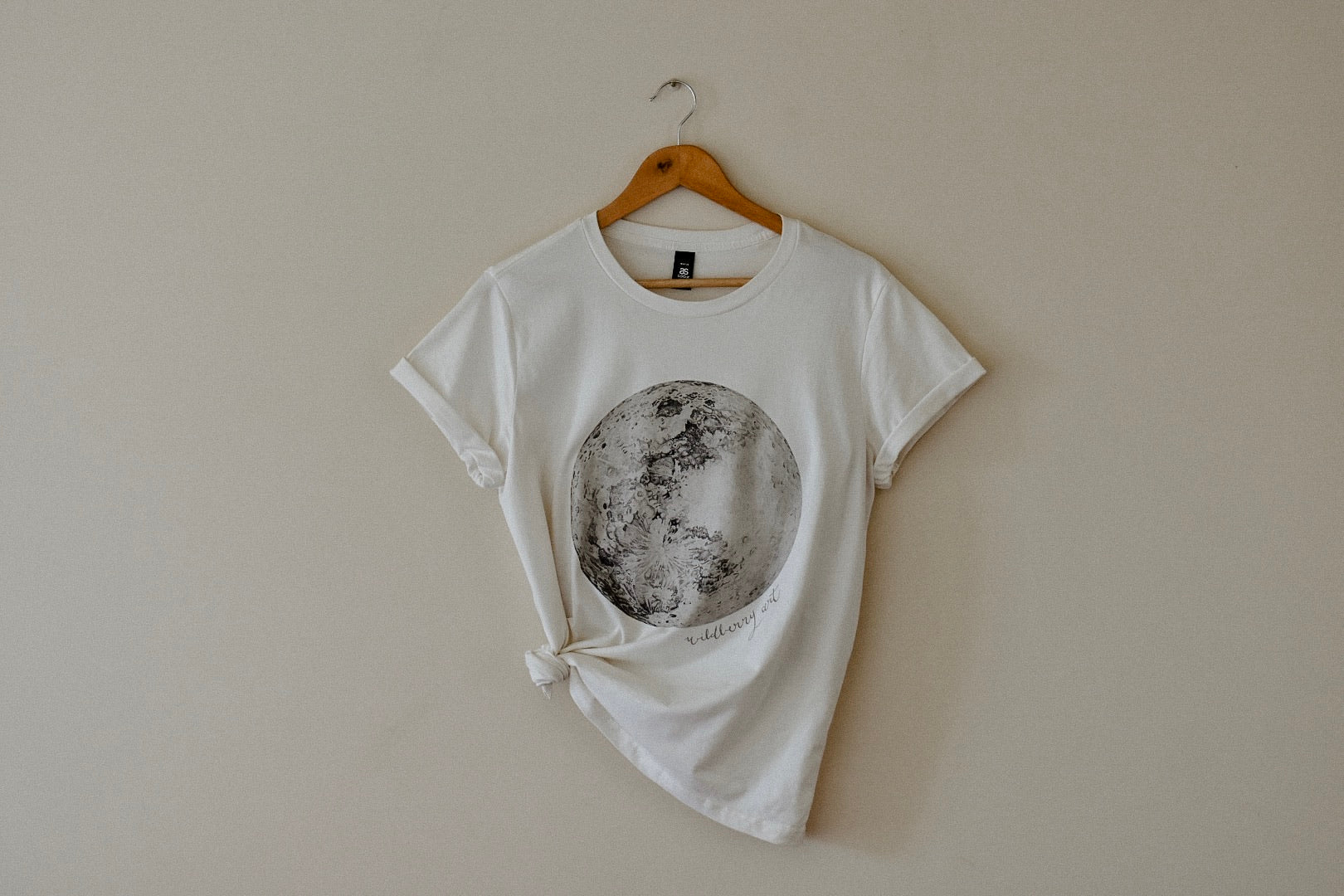 Moon Womens Tee - Natural (PRE ORDER)