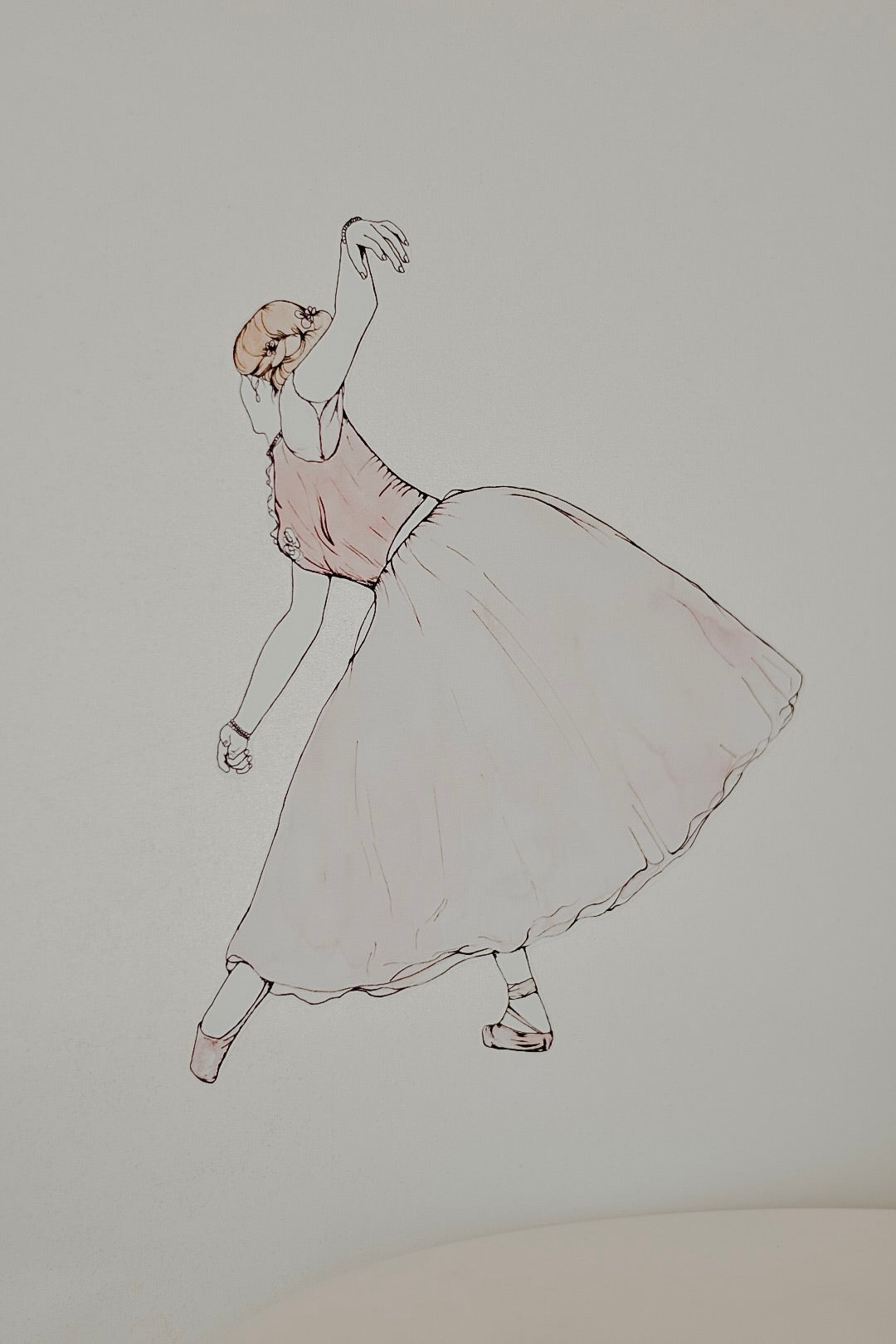 Evelyn - The Ballerina Collection - Fabric Wall Decals