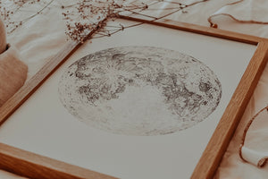 Moon Illustration