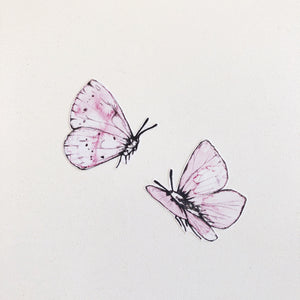 Butterfly Fabric Wall Decals - Separates