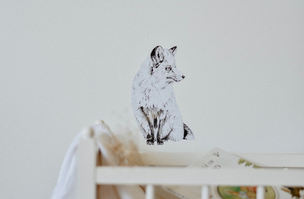 Mr Fox Fabric Wall Decal - Separate