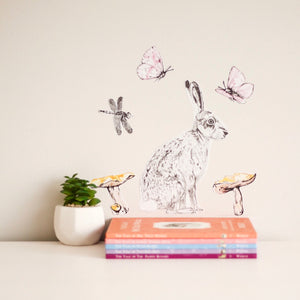 The Girl Woodlands Collection - Fabric Wall Decals