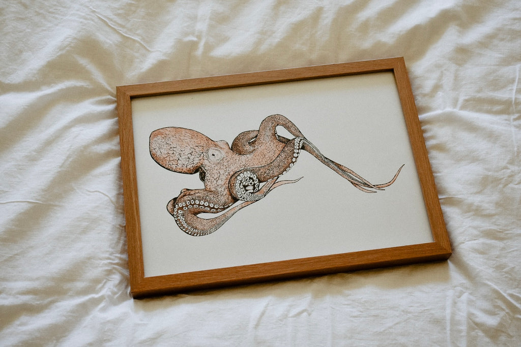 Occy the Octopus Print
