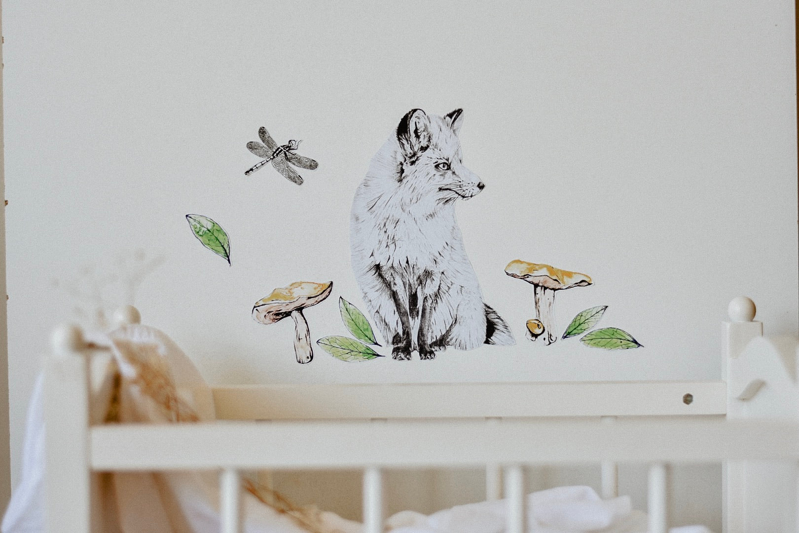 The Boy Woodlands Collection - Fabric Wall Decals