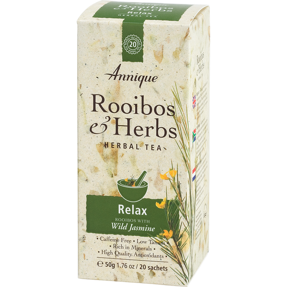 Herbal Tea: Rooibos and Wilde Jasmine Tea 50g