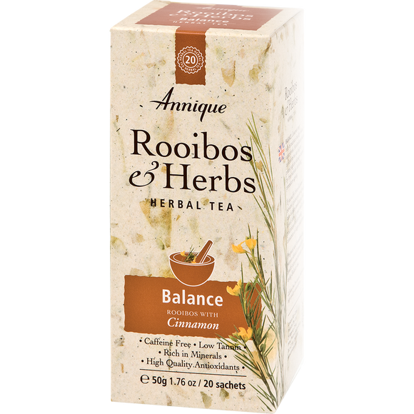 Herbal Tea: Rooibos and Cinnamon Tea 50g