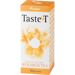 Taste T Peach flavoured Rooibos Tea