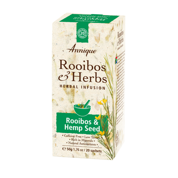 Herbal Tea: Rooibos & Hemp seed Tea