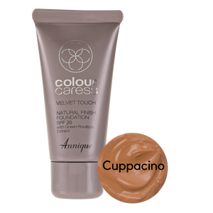 Velvet Touch Natural Foundation: Cappuccino 30ml