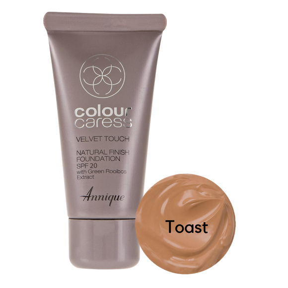 Velvet Touch Natural Foundation: Toast 30ml