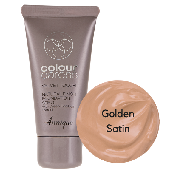 Velvet Touch Natural Foundation: Golden Satin 30ml