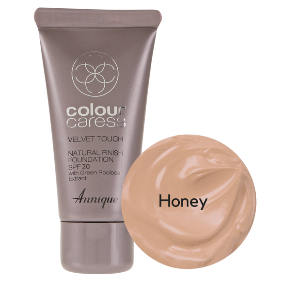 Velvet Touch Natural Foundation: Honey 30ml