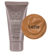 Velvet Touch Natural Foundation: Latte 30ml