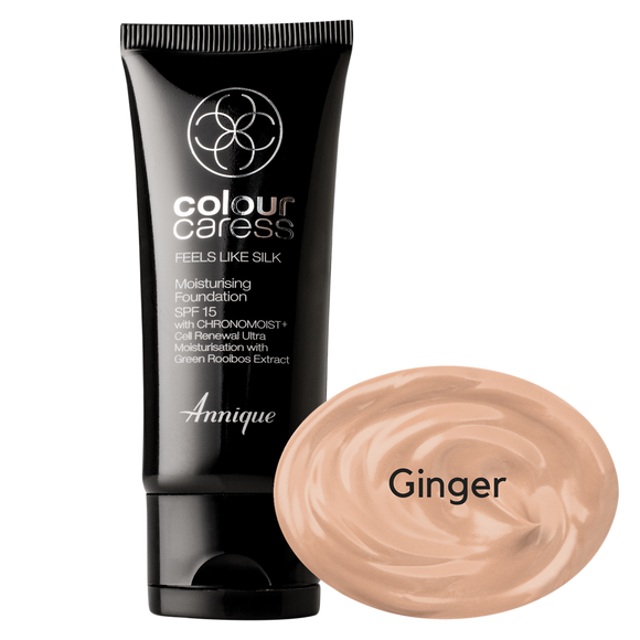 Feels Like Silk Moist Foundation Ginger 30ml
