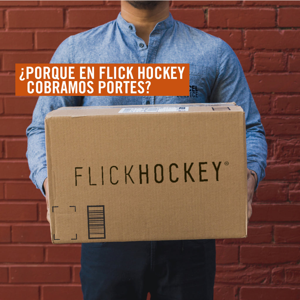 ¿Porque en Flick Hockey cobramos portes?