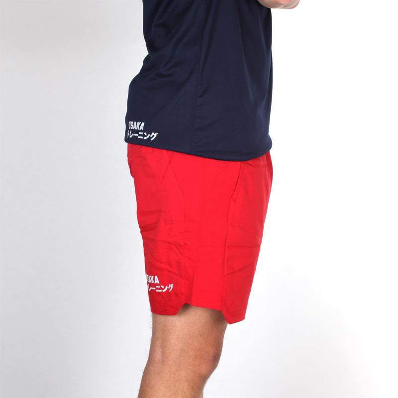 Pantalon Corto Osaka Men Training Rojo