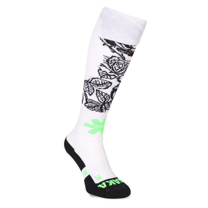 Calcetines Osaka SOX Blanco Flowers