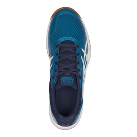 Zapatillas Asics Upcourt 3 Indoor Azul/Blanco