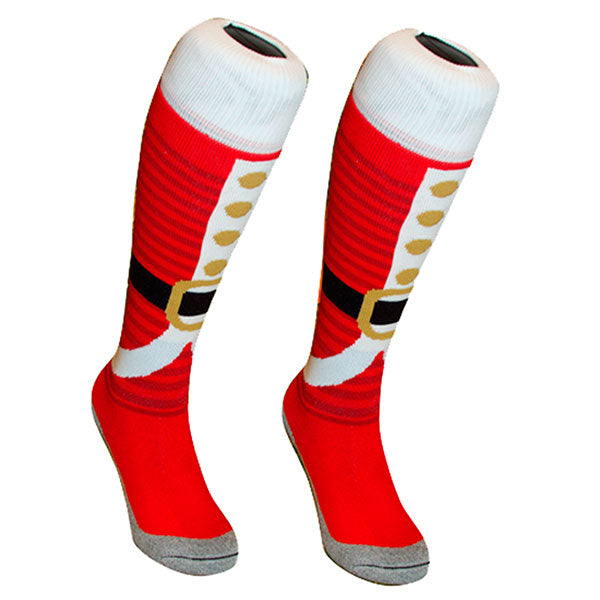 Calcetines Hingly Santa Belt Red
