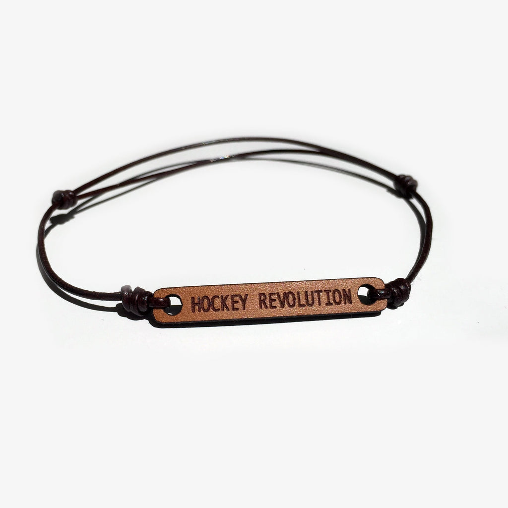 Brazalete Flick Hockey Revolution Marron Oscuro
