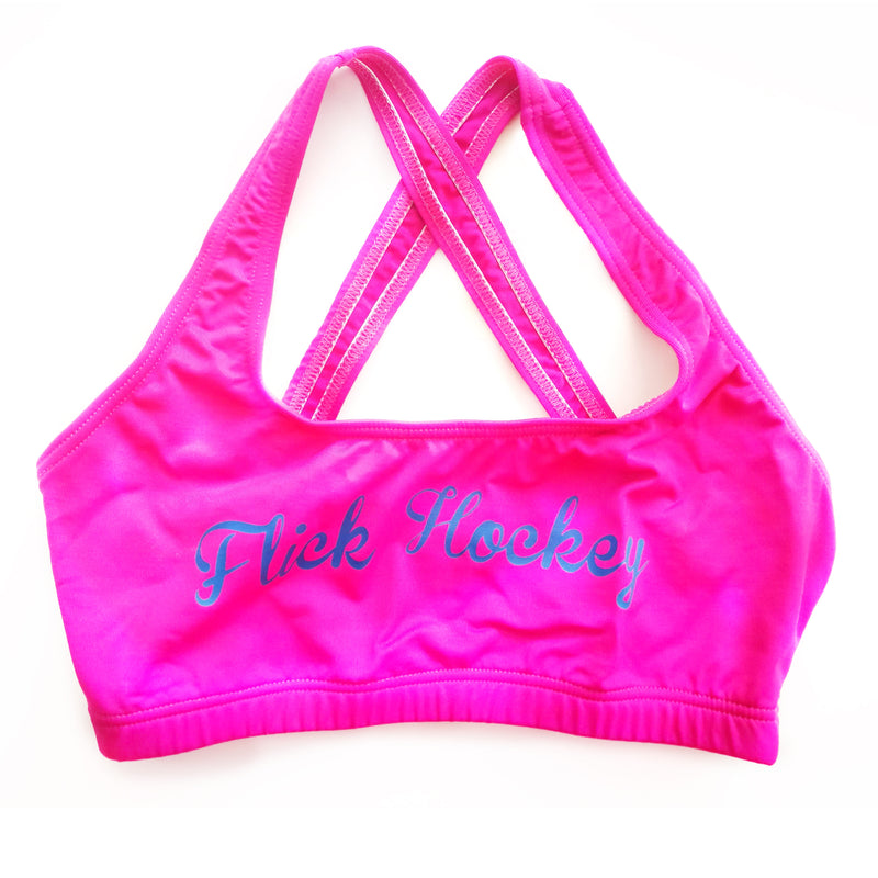 Top deportivo Flick Hockey Rosa Azul