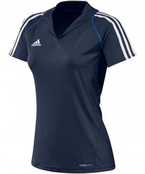 adidas T12 Womens Clima Polo Navy