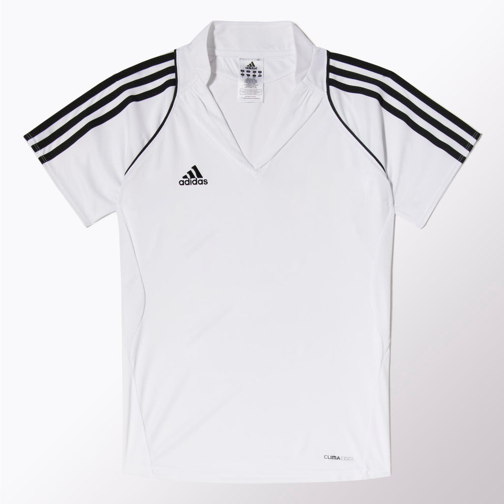 adidas T12 Womens Clima Polo Blanco