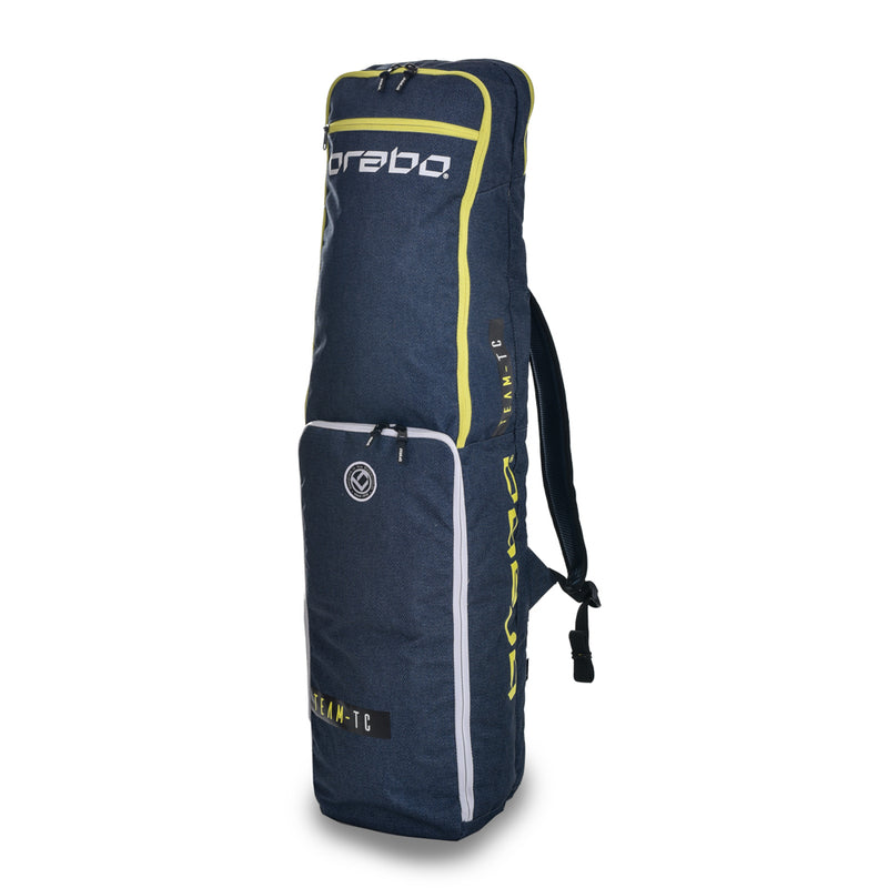 Funda de Hockey Brabo Team TC Azul Amarillo