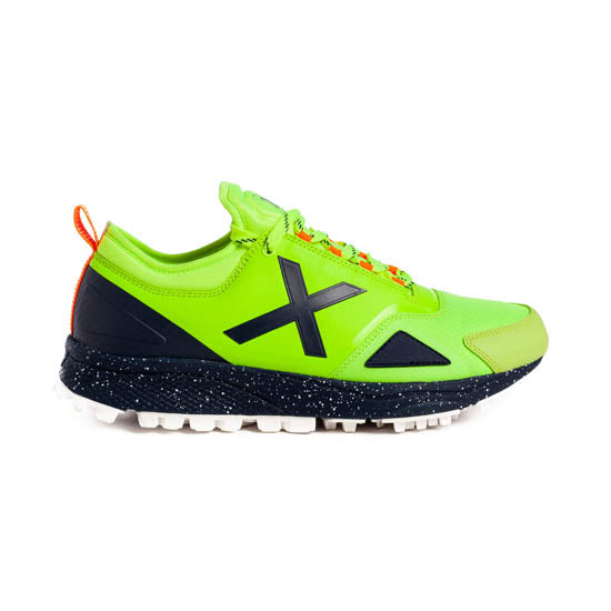 Zapatillas Munich HOOK 04 Verde Fluor