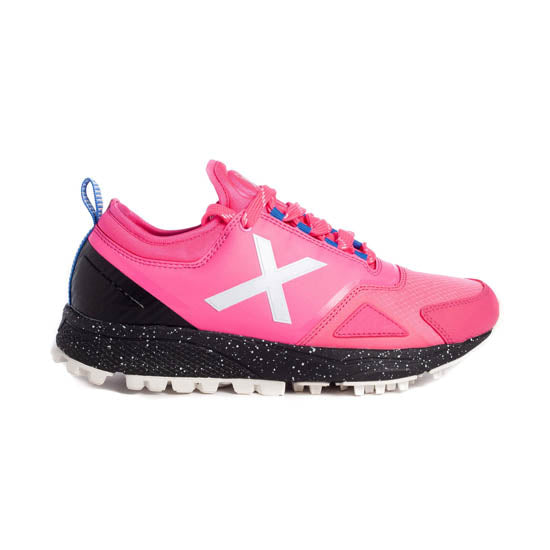 Zapatillas Munich HOOK 05 Rosa Fluor