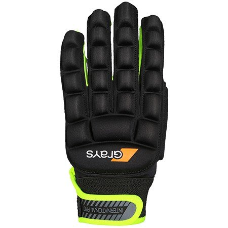 Guante de Hockey Sala Grays Pro Yellow Left Hand Negro