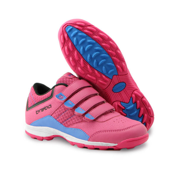 Zapatillas Brabo Velcro Junior Rosa/Violeta