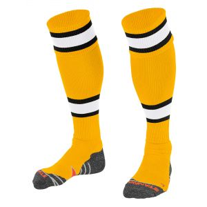 Calcetines Stanno League Amarillo Negro Blanco