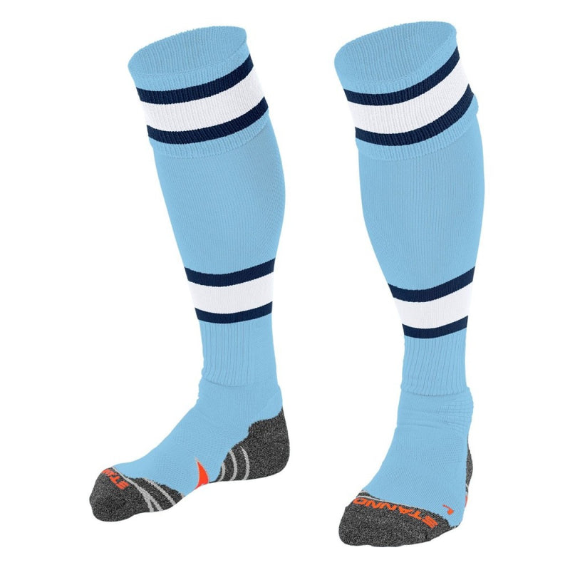 Calcetines Stanno League Azul Celeste Blanco Navy