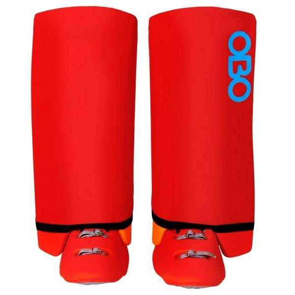 OBO Slippa Indoor Legguard Cover Red