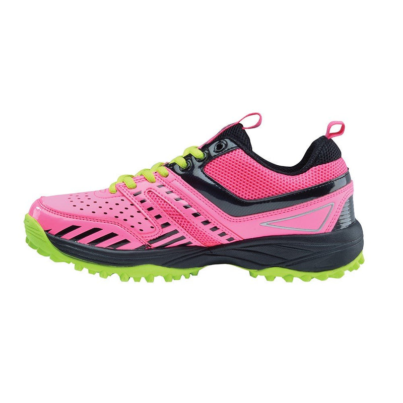 Zapatillas Hockey Grays Hockey Shoe G500 Rosa Amarillo Infantil