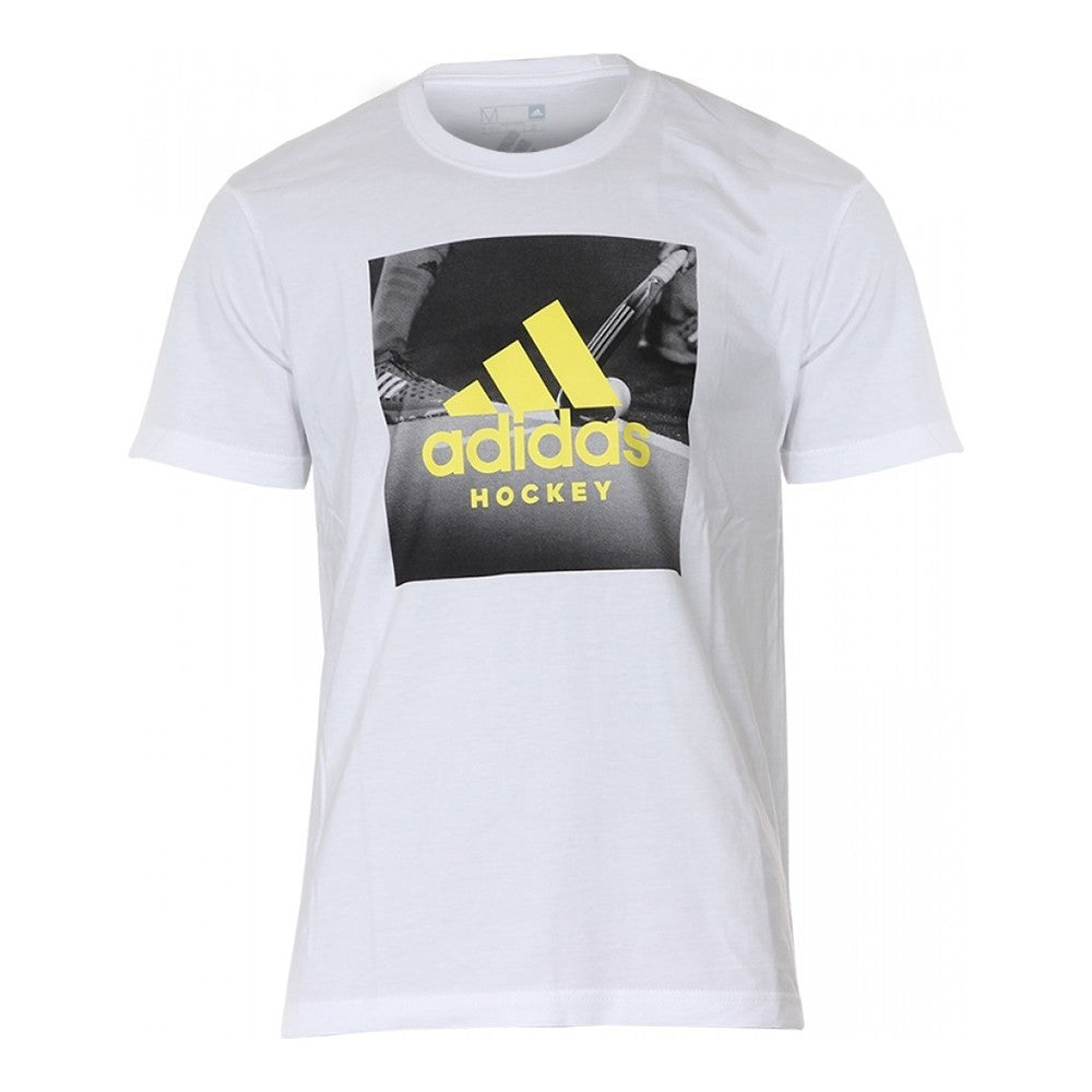 adidas Hockey Graphic Logo Tee Men
