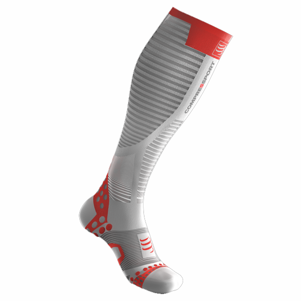 Calcetines Compressport Ultralight Blanco