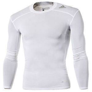 adidas TECHFIT Base LS Blanco