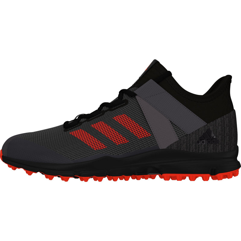 Zapatillas Hockey Adidas Zone Dox Negro Rojo