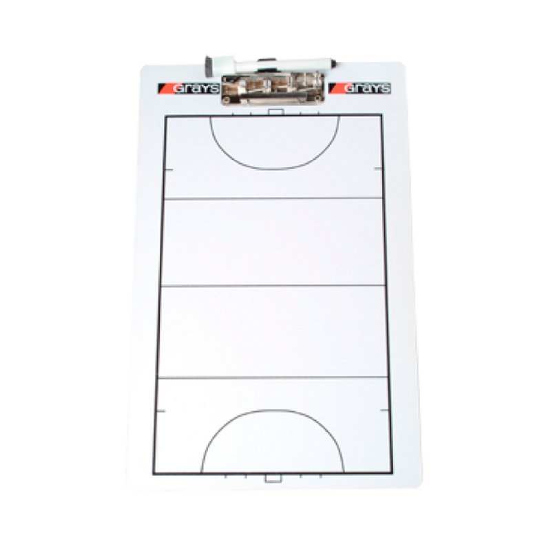 Pizzarra entrenador Tipo Clip Grays Hockey
