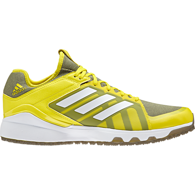 Zapatillas Hockey Adidas Lux Amarillo Gris