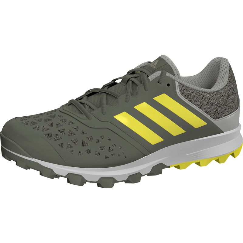 Zapatillas Hockey Adidas Flexcloud Gris Amarillo