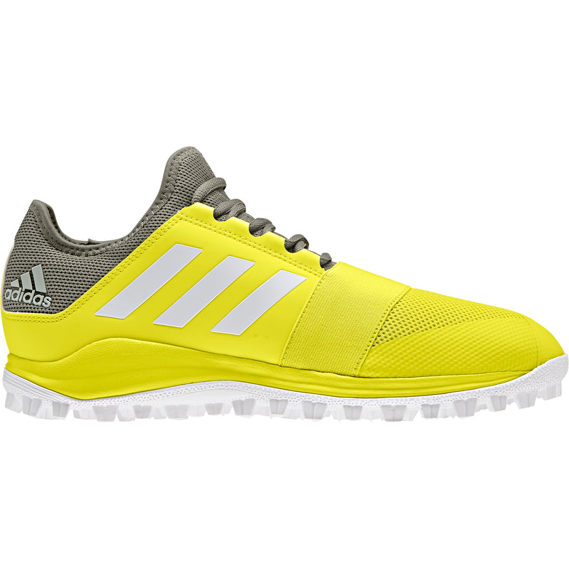 Zapatillas Hockey Adidas Divox Amarillo Gris