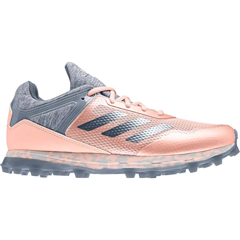 Zapatillas Hockey Adidas Fabela Zone Rosa Gris