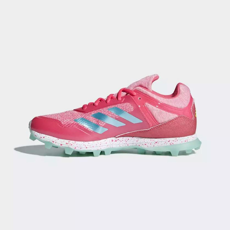 Zapatillas Hockey Adidas Fabela Zone Rosa Verde