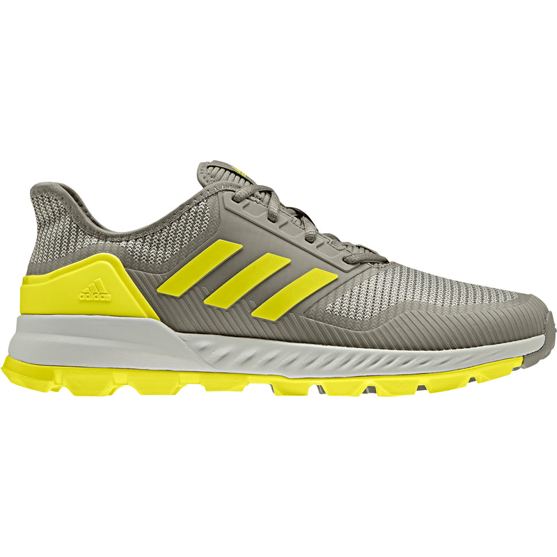 Zapatillas Hockey Adidas Adipower Gris Amarillo