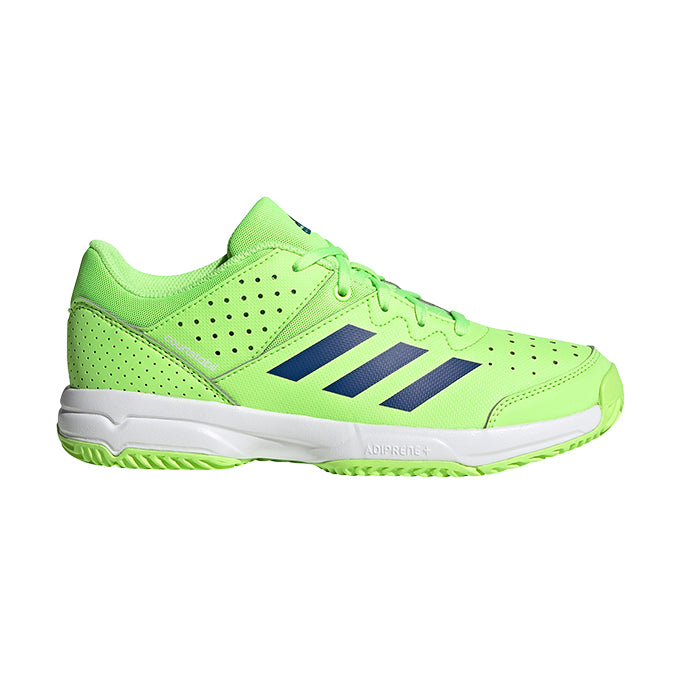 Zapatillas de Hockey Sala Jr Adidas CourtStabil Verde Azul Blanco