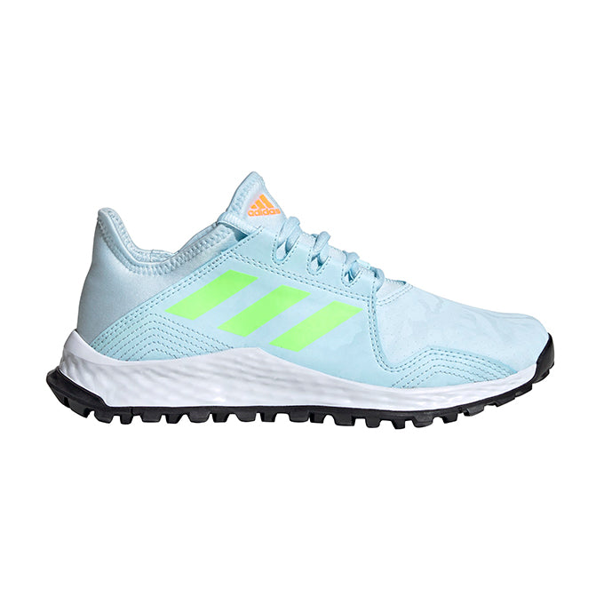 Zapatillas de Hockey Adidas Youngstar Azul Claro Verde